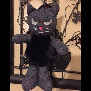 Betsy Johnson Cat Backpack